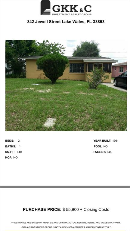 342 Jewell St, Lake Wales, FL