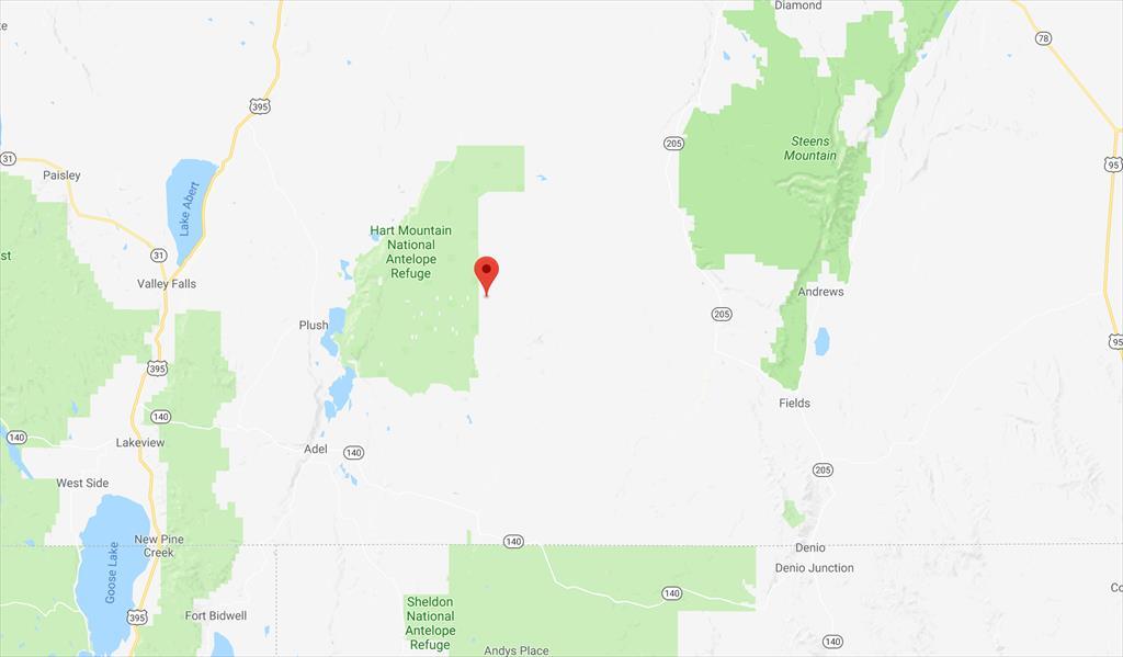 East of Hart Mountain National Antelope Refuge, Adel, OR