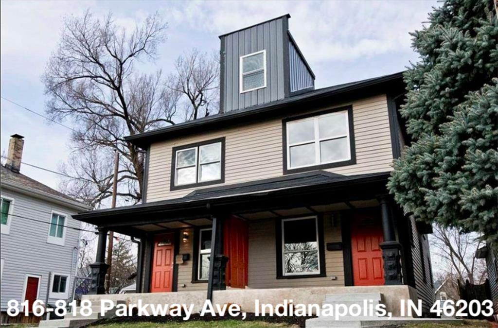 816-818 Parkway Ave, Indianapolis, IN