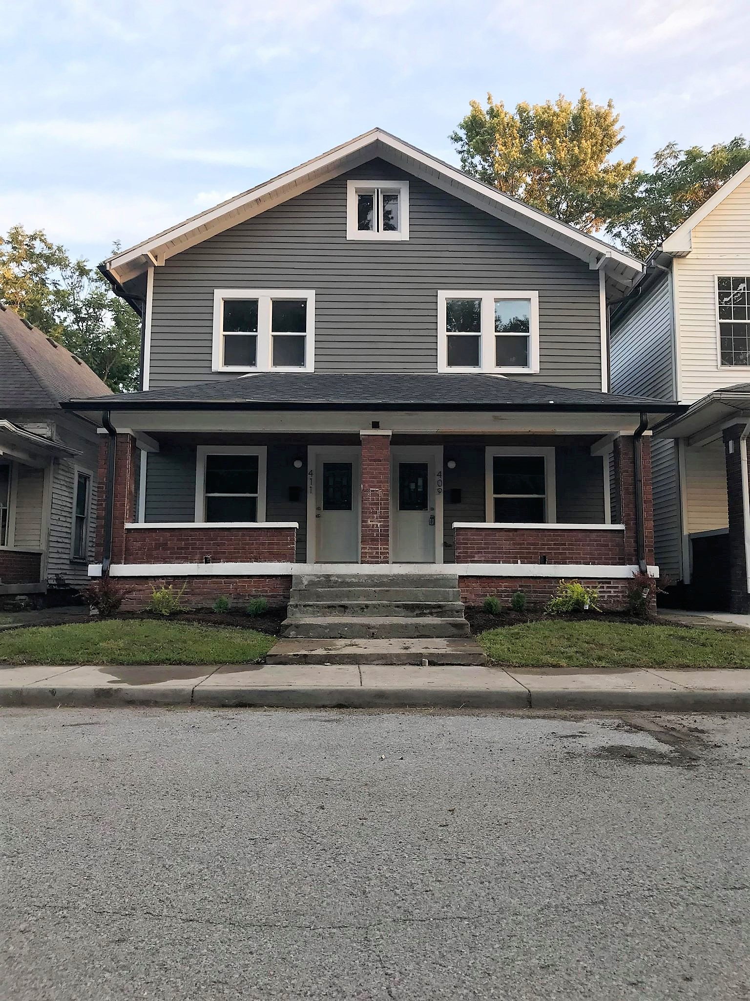 409 & 411 Sanders St, Indianapolis, IN