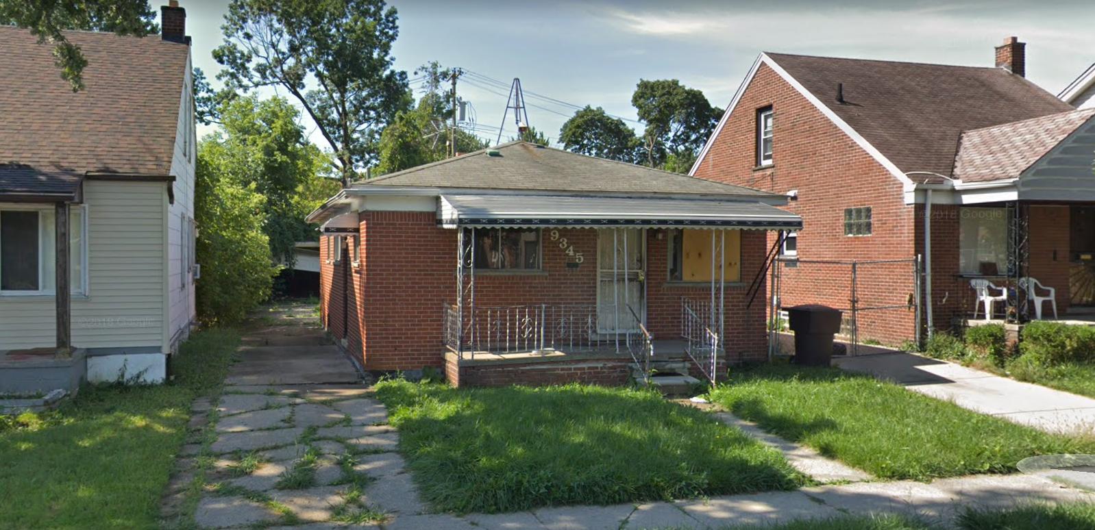 9345 Courville St, Detroit, MI