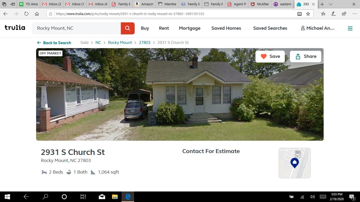 2931 S Church St, Rocky Mount, NC