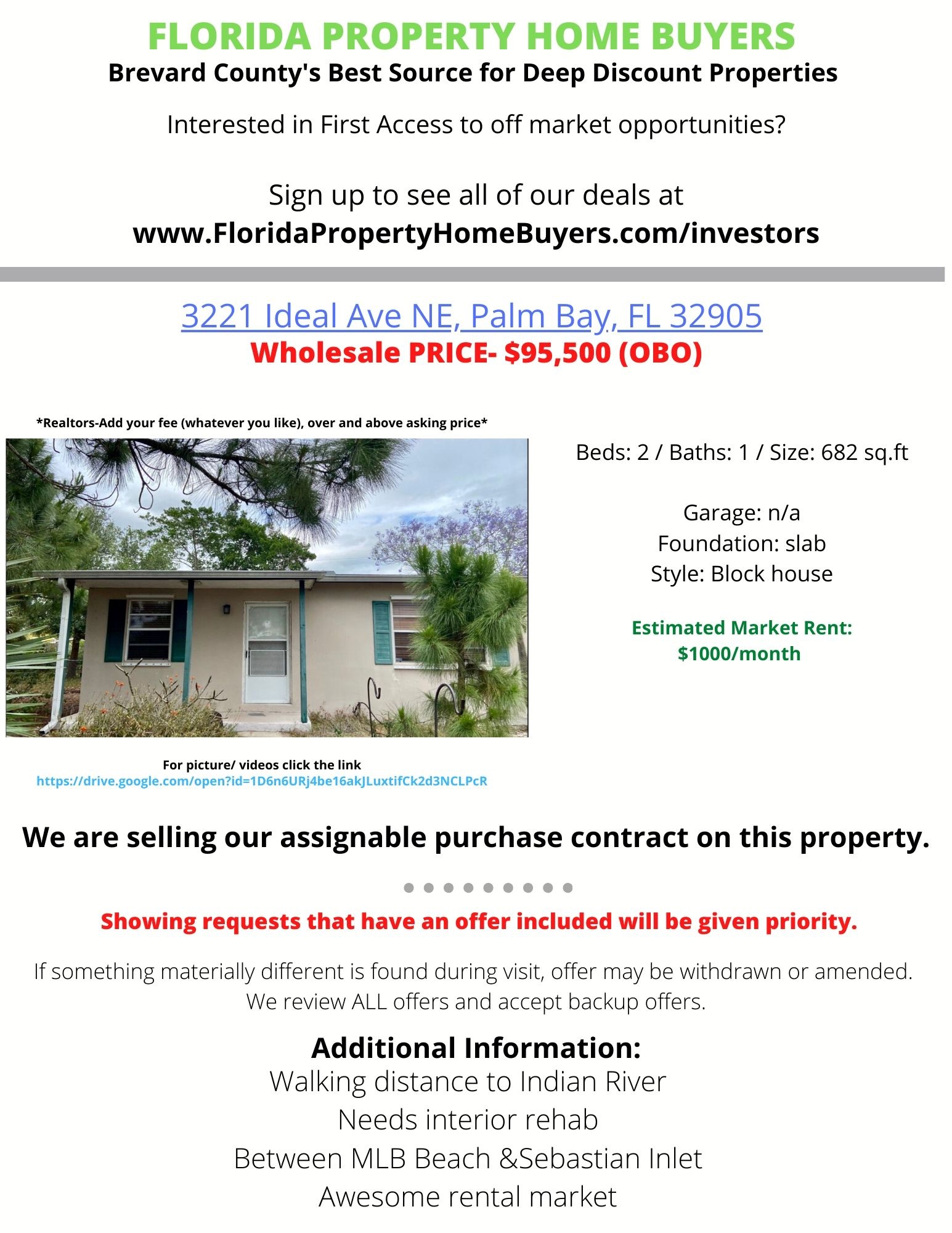 3221 Ideal Ave NE, Palm Bay, FL
