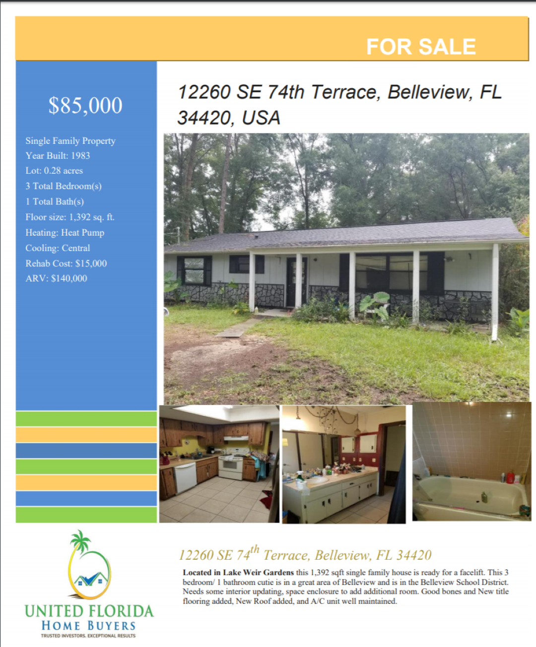 12260 SE 74th Terrace, Belleview, FL