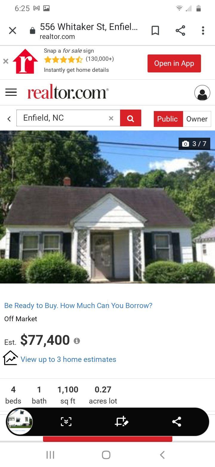 556 Whitaker St, Enfield, NC