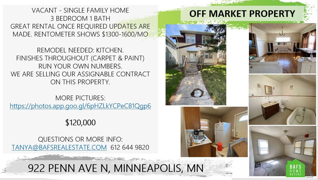922 Penn Ave N<br />Minneapolis, MN
