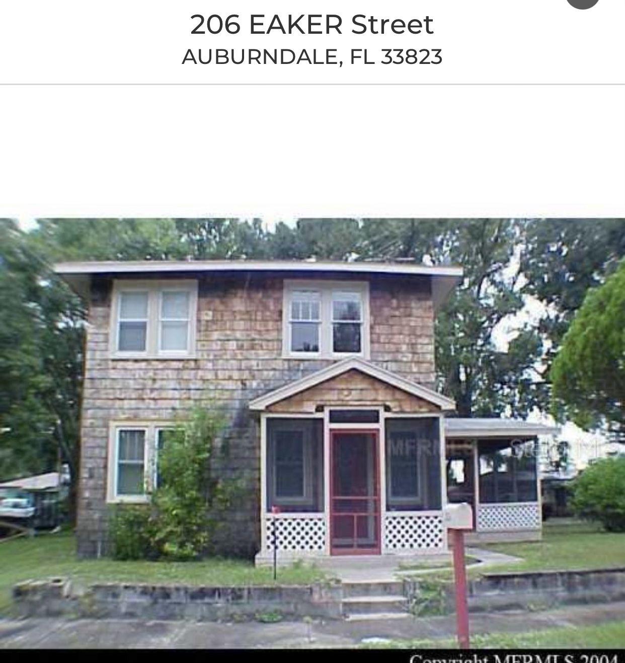206 Eaker St, Auburndale, FL