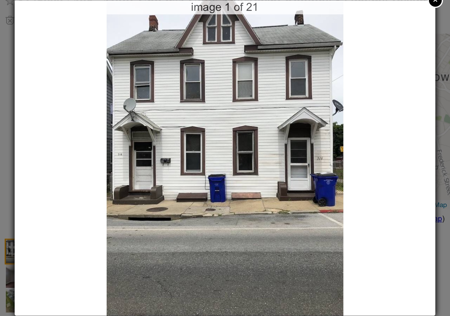 516 and 518 George Street, Hagerstown, MD