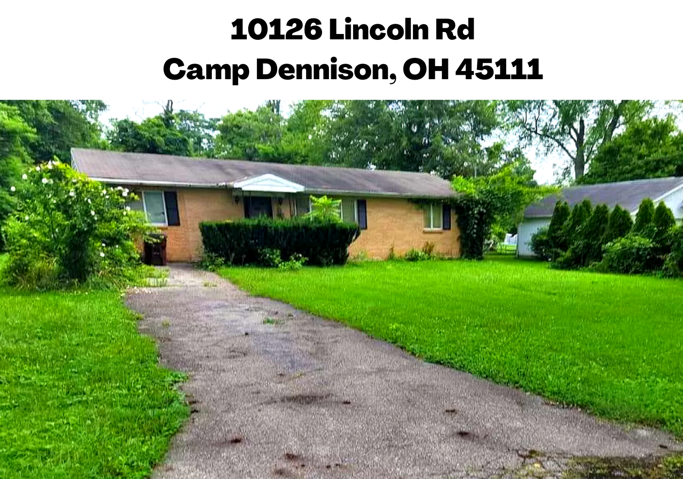 10106 and10126 Lincoln Rd, Camp Dennison, OH 45111 (Image - 1)